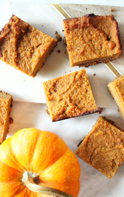 Amazing Paleo Pumpkin Pie Bars