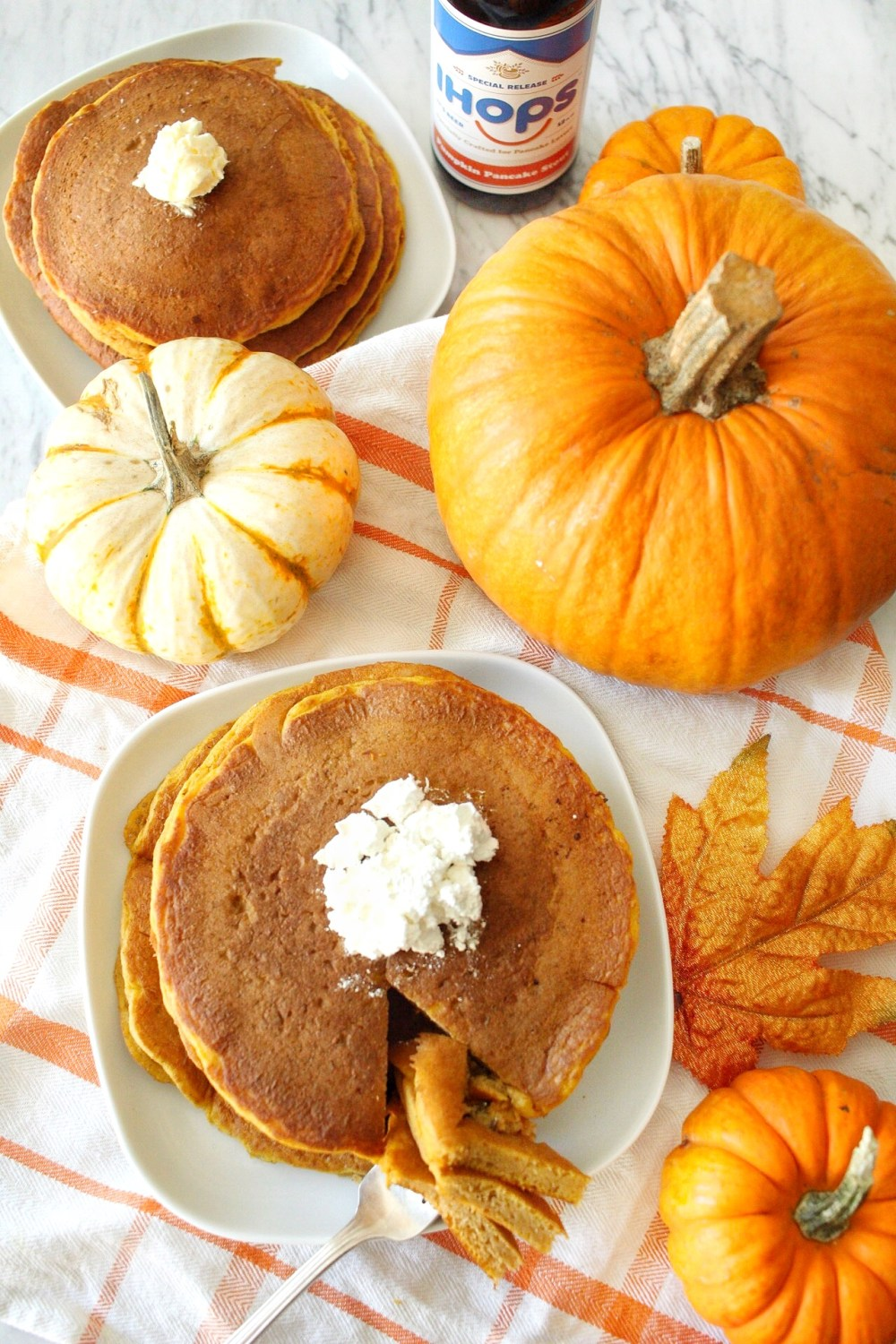 Pumpkin Pancakes at IHOP