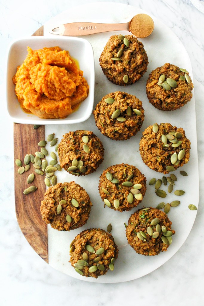 delicious pumpkin morning glory muffins