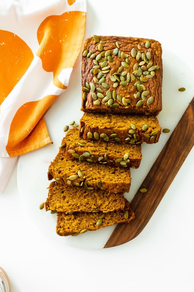 low-sugar-pumpkin-bread
