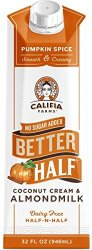 pumpkin spice better half creamer
