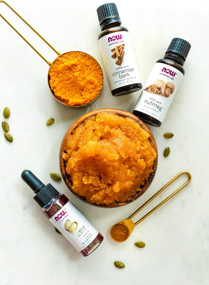 pumpkin sugar scrub