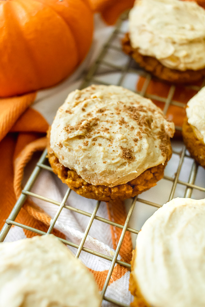 paleo pumpkin cookies