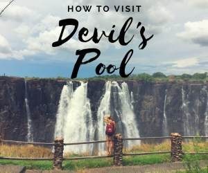 Devil's Pool: Swimming in Nature's Ultimate Infinity Pool