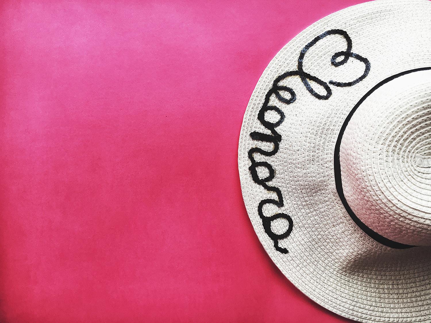 prezzo all'ingrosso costruzione razionale il più grande sconto DIY: Customized straw hat! Once Upon a Time..