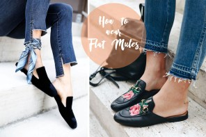 [TREND] How to wear flat mules (aka Sabot)