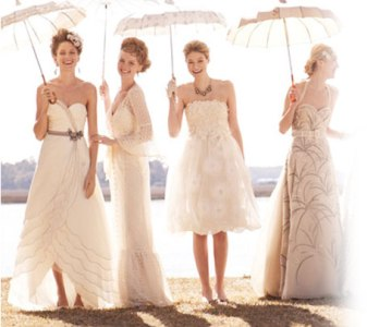 BHLDN Preowned Wedding Dresses   Once Wed Stunning BHLDN Preowned Wedding Dresses