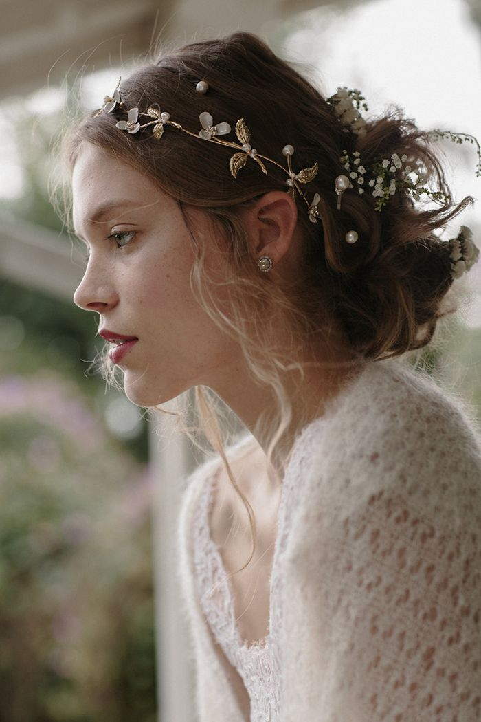 1 boho bridal hairpiece