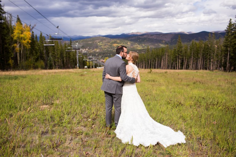 Breckenridge Ski Resort Wedding on Peak 9: Stephanie & Ryan
