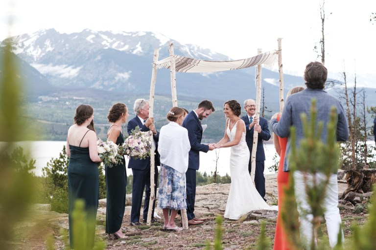A Windy Point Trail Wedding in Keystone