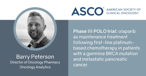 Phase III POLO trial: olaparib as maintenance treatment following first-line platinum-based chemotherapy in patients with a germline BRCA mutation and metastatic pancreatic cancer