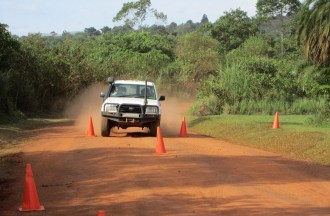 4wd Defensive Driving (High Range) Training Photo
