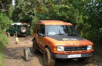 4wd Self-Recovery Training