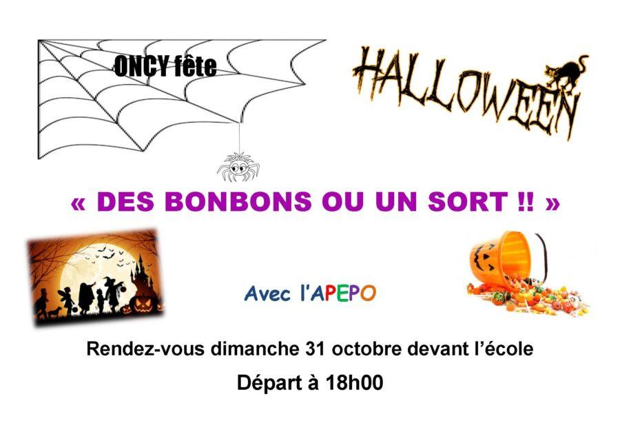 Halloween des enfants