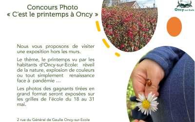 Concours Photo  «C'est le printemps à Oncy»