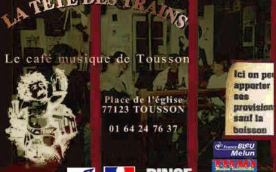 Reprise des concerts à  La Tête des Trains