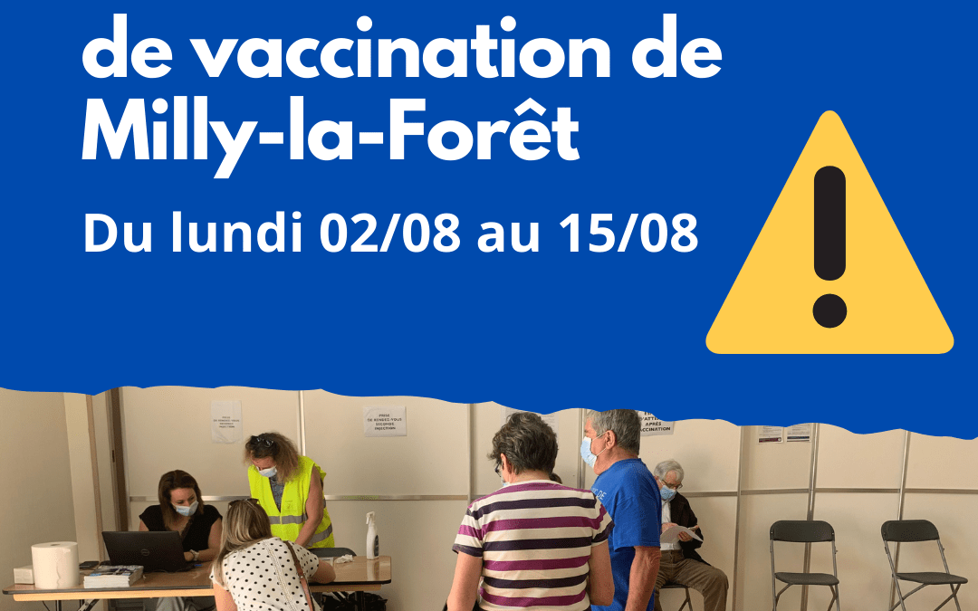 >Vaccination à Milly