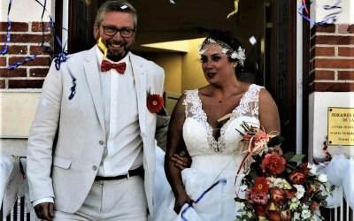 Premier mariage depuis le confinement