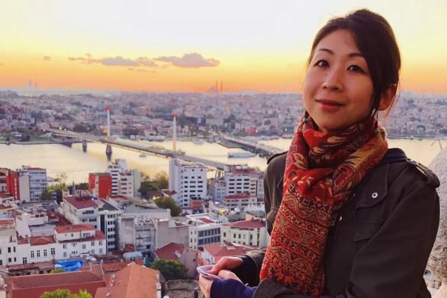 Akane Yabushita portrait
