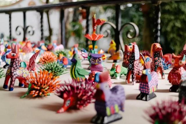 oggetti artistici messicani