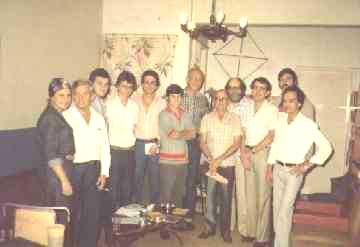 Foto histórica de reunião do Clube