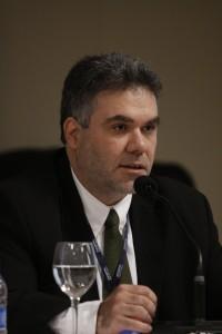 Flávio Archangelo no Congresso da Abert