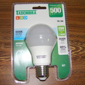 Lâmpada LED Taschibra