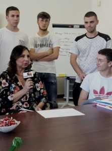 Tv Giordani - intervista preside 4