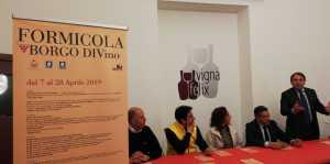 conferenza stampa Formicola Borgo Divino