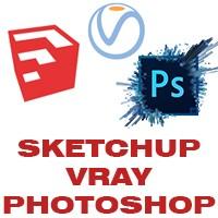 AEDesenho - Sketchup + Vray 2.0 + Photoshop