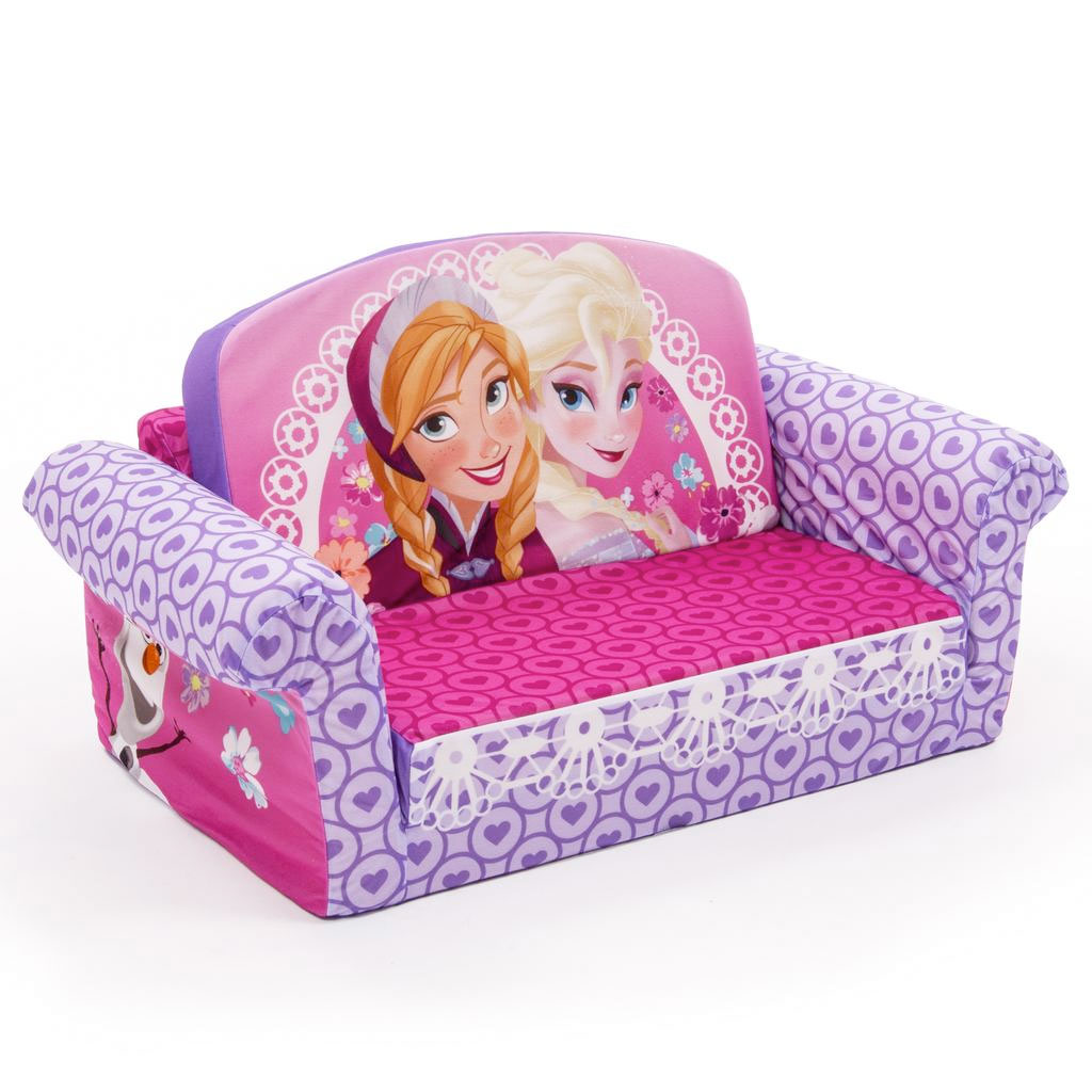Incroyable Furniture Marshmallow Couch Toddler Flip Open Sofa Doc. Minnie Mouse ...
