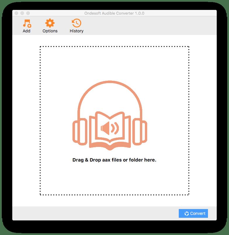 Ondesoft AudioBook Converter for Mac 3.0.1 破解版 - DRM音频去除应用