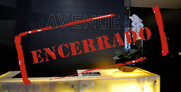 restaurante avenue encerrado