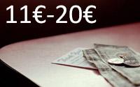 Entre 11€ e 20€