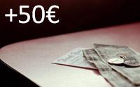 Mais de 50€