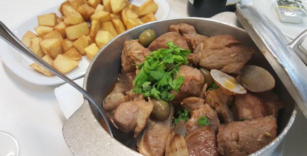 andorinhas restaurante tradicional ajuda lisboa carne porco a alentejana