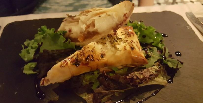 casa do lago restaurante portugues jardim do campo grande vista lisboa folhado queijo