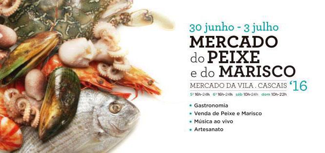 mercado peixe e marisco em cascais
