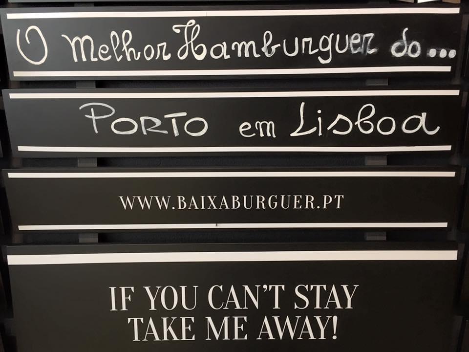 novidade onde vamos jantar baixa burger