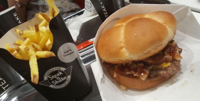 steak 'n shake hamburgueria dinner burgers milkshakes forum montijo bbq burger