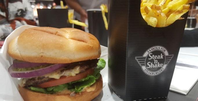 steak 'n shake hamburgueria dinner burgers milkshakes forum montijo guacamole burger