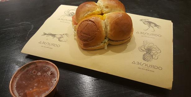 absurdo by olivier restaurante sandes chef olivier fast food sanduiches cais do sodre lisboa ate tarde cover