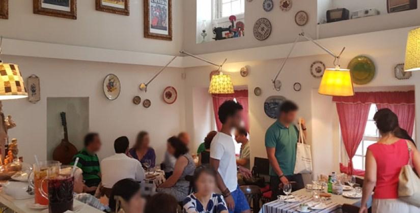 Maria da Mouraria restaurante fado
