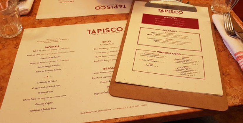 Restaurante Tapisco Príncipe Real