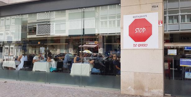 STOP DO BAIRRO (agora em Campolide…)