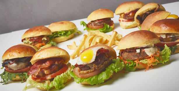 all you can eat de hambúrgueres