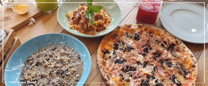 otto restaurante risotto e pizza