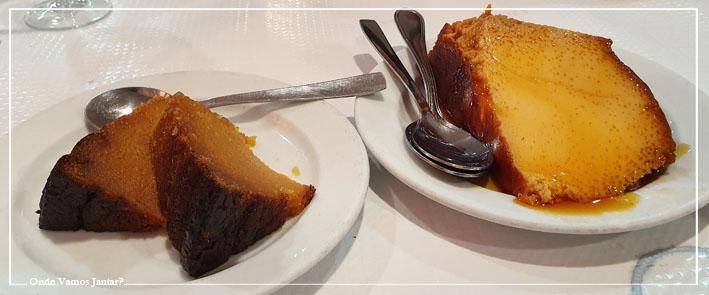 restaurante o cruzamento sobremesas