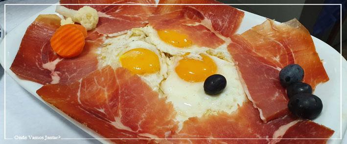 tico tico ovos com bacon
