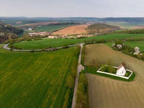 Foto z dronu - architektura